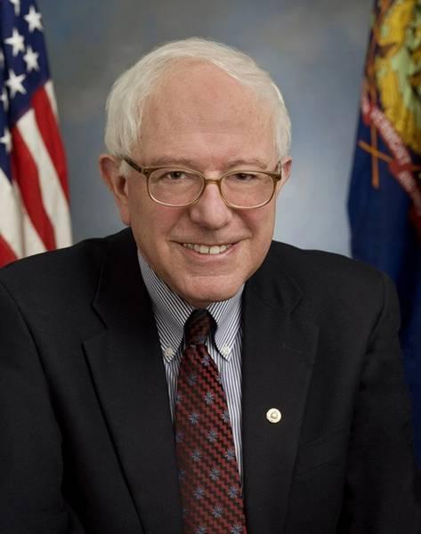 US-Senator Bernie Sanders. Kredit: US-Senat Website.