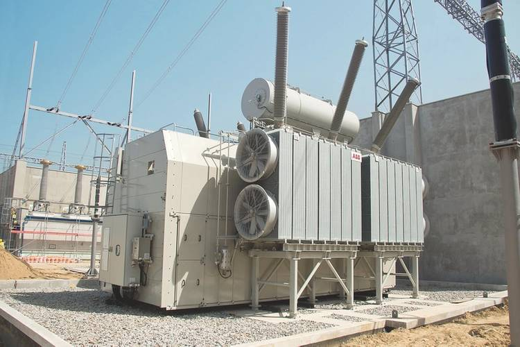 ABB 330 and 500 MVA autotransformers delivered to Ołtarzew substation - Poland Photo ABB