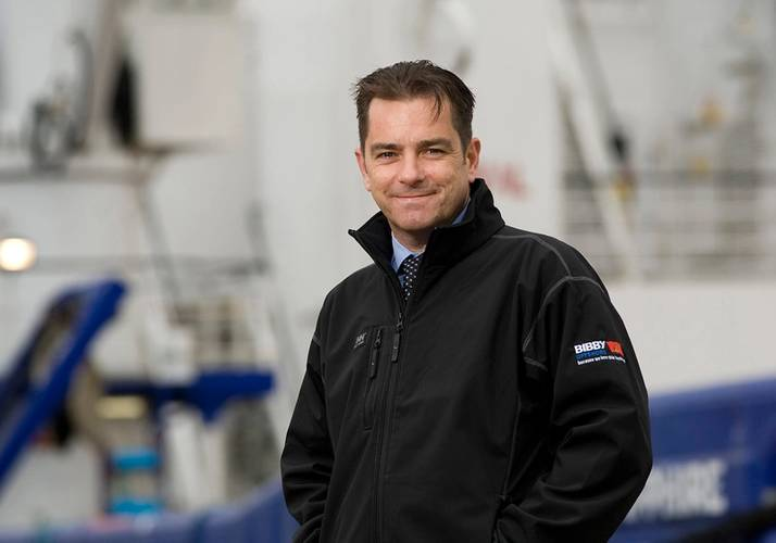 Howard Woodcock, Chief Executive, Bibby Offshore