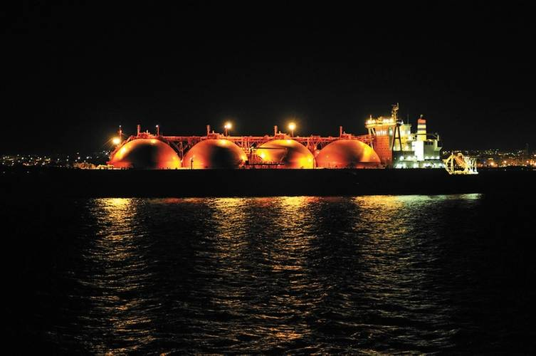 Night ops LNG training
