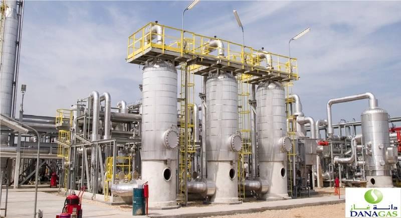 Dana Gas Plant in Egypt