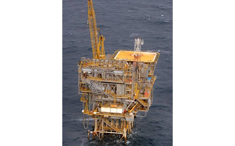 The Barracouta platform in Bass Strait (Photo: ExxonMobil)