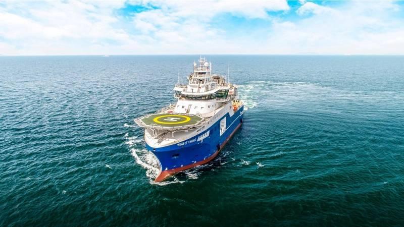 Louis Dreyfus Armateurs owned SOV Wind of Change. Photo courtesy Cemre Shipyard