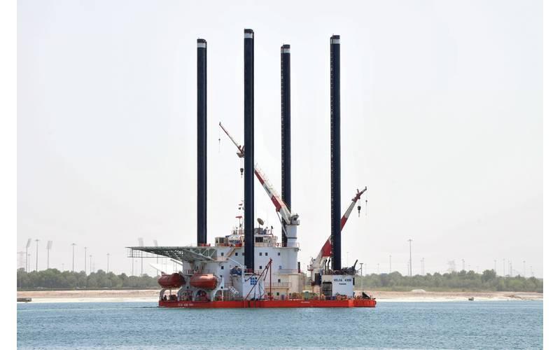 A Gulf Marine Services Jack Up unit (CREDIT: GMS)