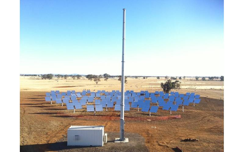 First of a kind concentrated solar PV power tower